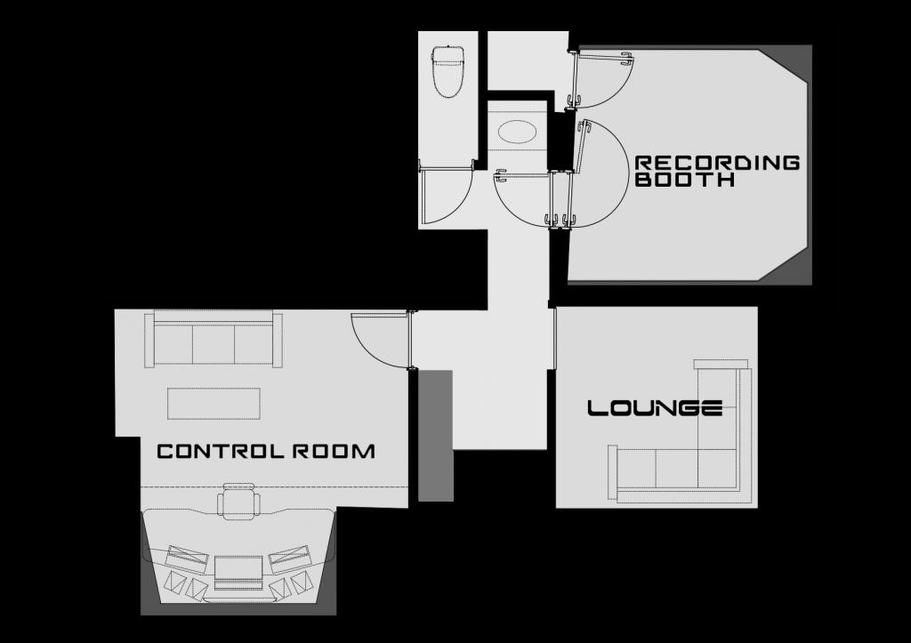 floor map1黒